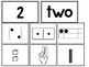 Subitizing Sorting Printable Cards. Preschool-Kindergarten Math Activity.