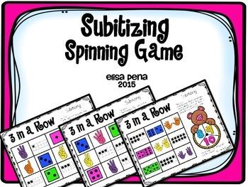 Subitizing Spinner Game