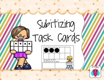 Subitizing Task Cards 1-10