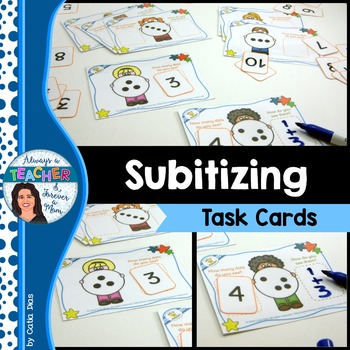 Subitizing - Task Cards