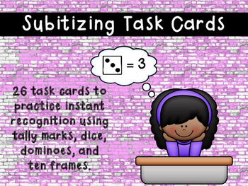 Subitizing Task Cards