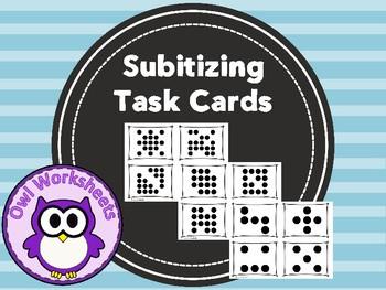 Subitizing Task Cards