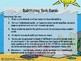 Subitizing Task Cards to 20 - Ocean Theme
