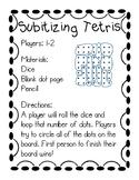 Subitizing Tetris Math Game
