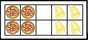 Subitizing: Pizza