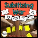Subitizing War for Number Sense