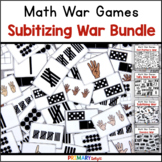 Subitizing War Game Bundle (A Set of Number Sense Games)