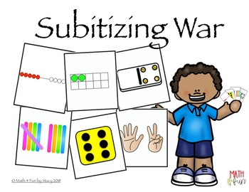 Subitizing War - Numbers to 10