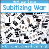 Subitizing Game - Ten Frames, Dot Patterns, Tally Marks, Fingers