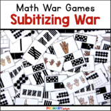 Subitizing Number Sense Game with Ten Frames and Dot Patte