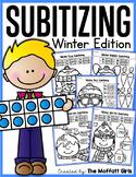 Subitizing (Number Sense) Winter Edition
