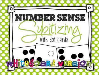 Subitizing: With Dot Cards