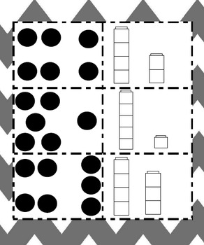 Subitizing With Dots or Unifix