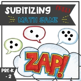 Subitizing ZAP Math Game - FREE!
