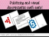 Subitizing and Visual Discrimination Interactive Math Mats