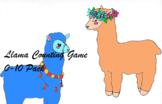 Subitizing and Counting Llama Game 0-10