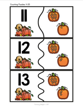 Subitizing and Number Sense: Fall Math Centers