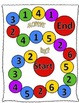 Subitizing and numeral recognition (up to 6) monster math