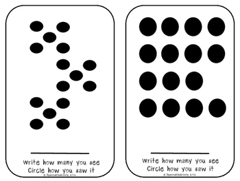 Subitizing dot patterns