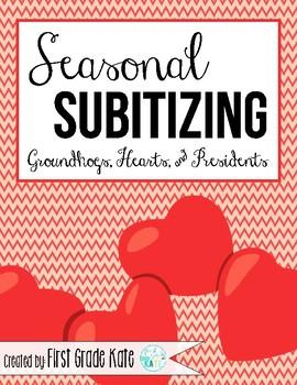 Number Sense: Subitizing for February
