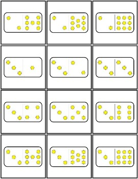 Number Sense: Subitizing for May & June
