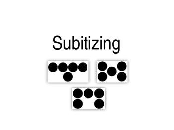 Subitizing slides to 10
