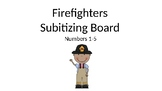 Subitizing with Firefighters Numbers 1-5