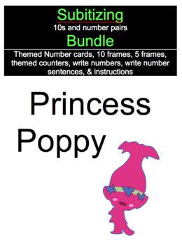 Subitizing with Princess Poppy