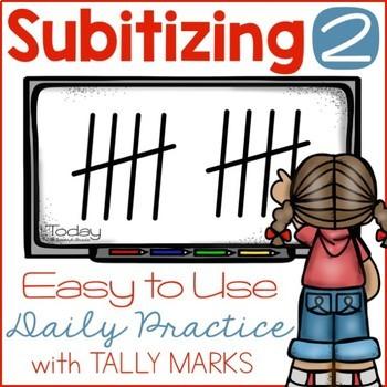 Subitizing with Tally Marks