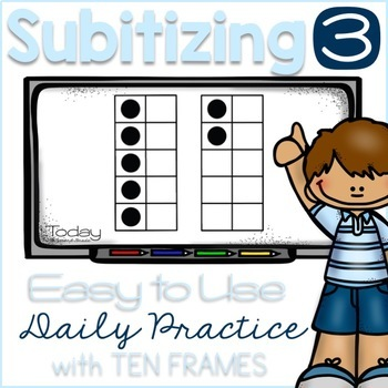 Subitizing with Ten Frames