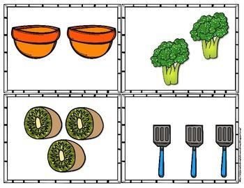Subitizing: Food