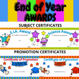 End of Year Awards-EDITABLE Digital and Printable #wedidit
