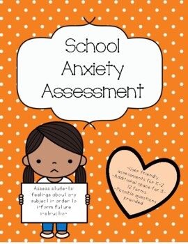 Subject Anxiety Assessment
