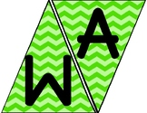 Subject Banners (Green Chevron)