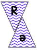 Subject Banners Purple Chevron
