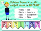 Subject Banners - as Gaeilge