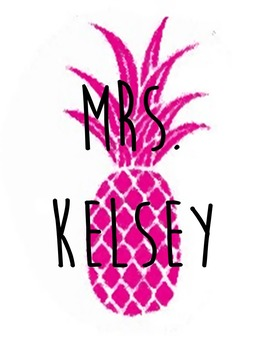 folder Covers sheet (35 different kind) with a hot pink pinapple