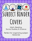 Subject Binder Covers