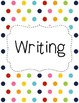 Binder Covers and Spines - Colorful Dots - FREE