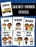 Subject Binder Covers and Spines - FREE