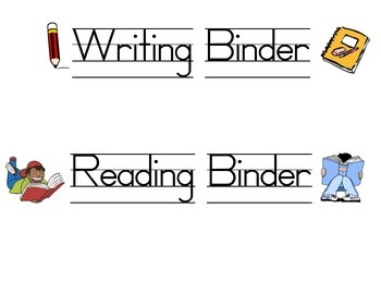 Subject Binder & Folder Lables