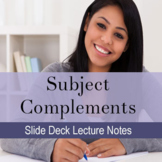 Subject Complement Lecture Slide Deck: Distance Learning