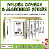 Subject Folder Covers