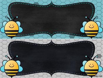 Subject Headers (Bee Theme)