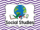 Subject Headers for Standards in Special Education Classrooms