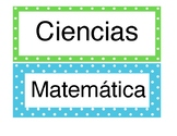 Subject Headers in Spanish