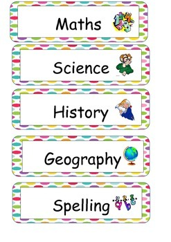 Subject Labels