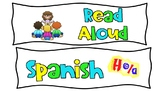 Subject Labels for Homework or Schedule