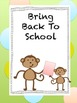 Subject Notebook Covers and Class Room Management Forms Monkeys