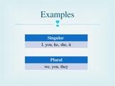 Subject & Object Pronouns PPT